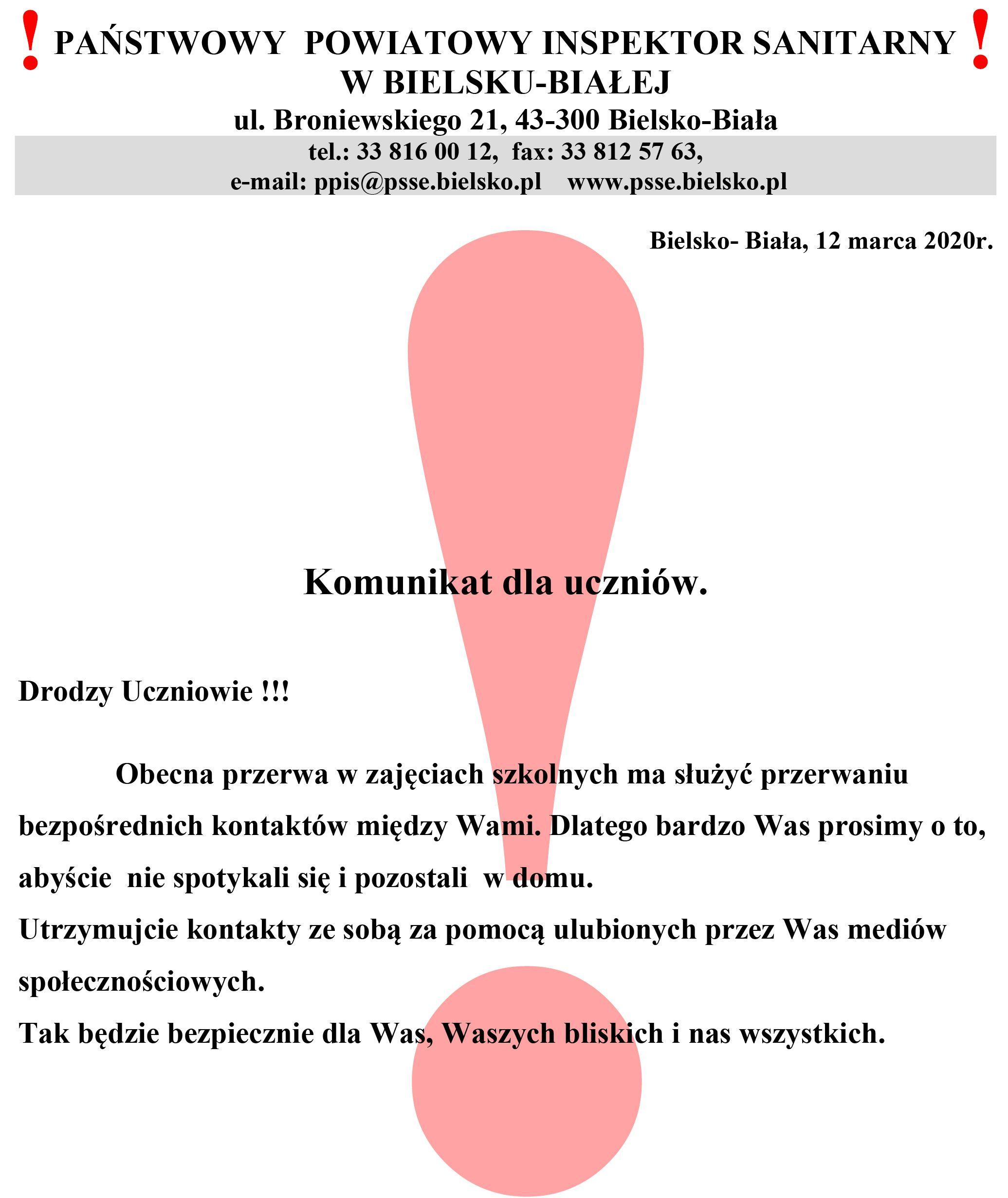 Komunikat dla uczniow_wykrzyknik (002)